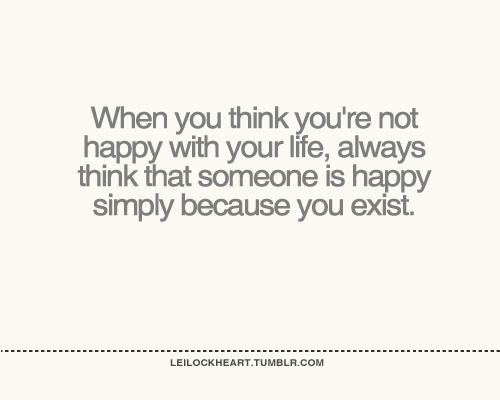 quotes about being happy because of him