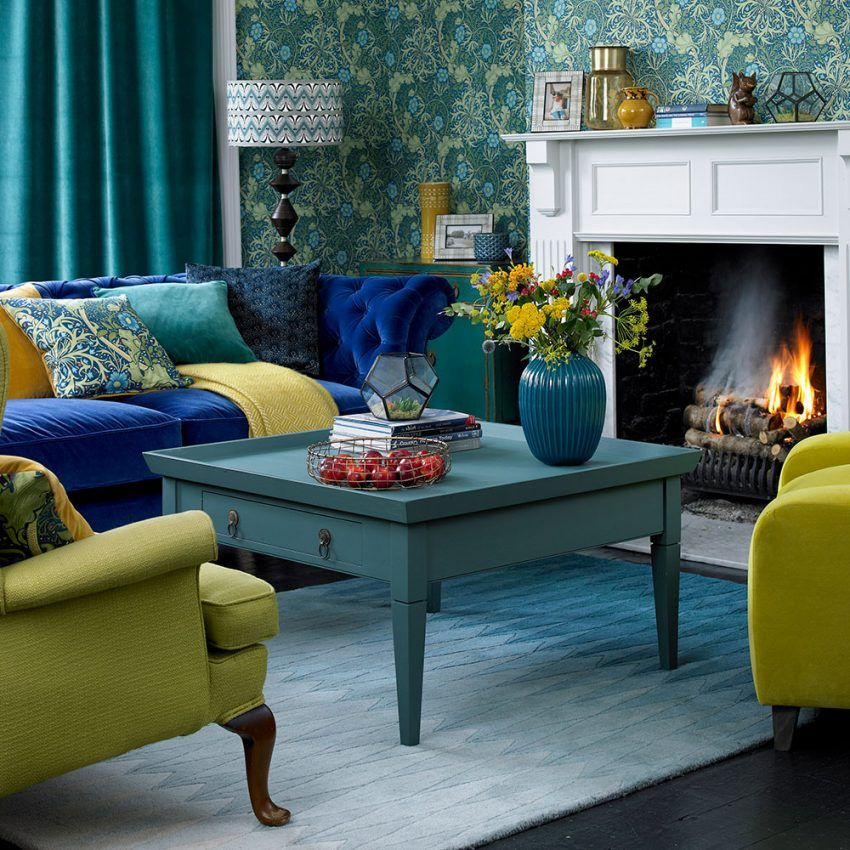 the effect of a green sofa upon your green living rooms