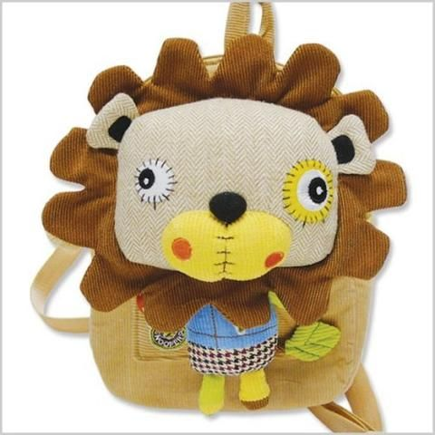 Smog the Tog Lion Back Pack with Detachable Doll