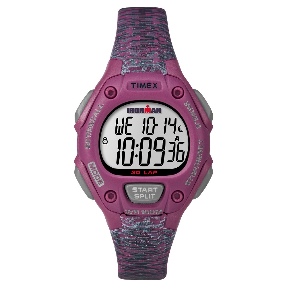 c0b306900adf Women s Timex Ironman Classic 30 Lap Digital Watch - Pink TW5M07600JT