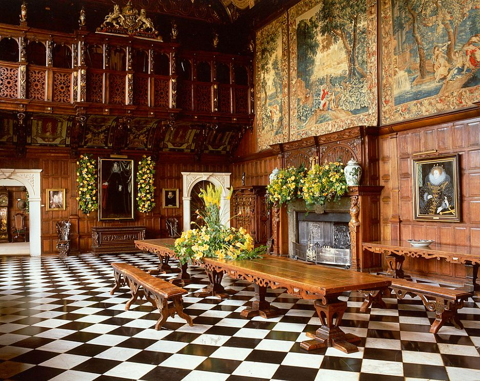hatfield house interior google search history