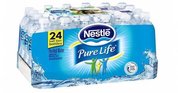 Nestle Pure Life Water Just 0 10 Per Bottle Nestle Pure Life Water Nestle Pure Life Pure Products