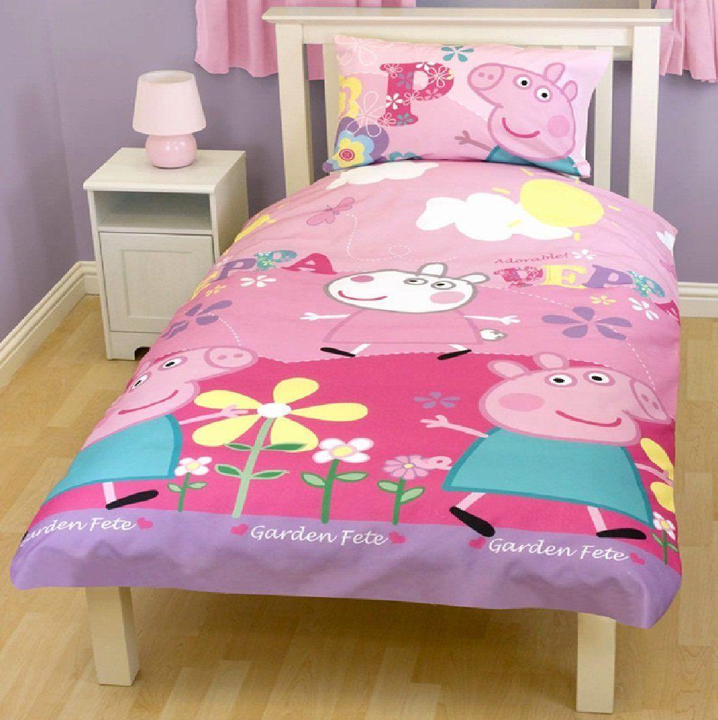 Peppa Pig Bedroom Stuff Peppa Pig Bedding Cool Bedding Set Pinterest