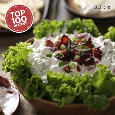 BLT Dip from Taste of Home #Top_100 #Recipe