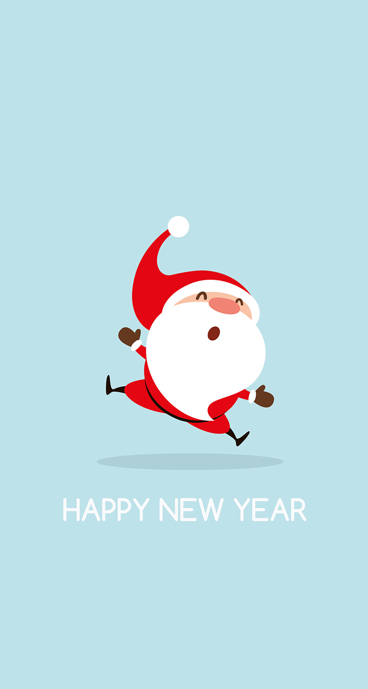 Wallpaper iPhone/holidays/funny 🎅/new year ⚪ | 素材 in 2018 ...