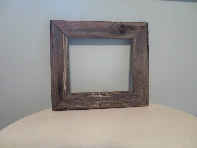 Barn Wood Picture Frame Rustic Primitive Wood Frame 12 X 14 Etsy Wood Picture Frames Rustic Barn Wood Picture Frames Barn Wood Frames