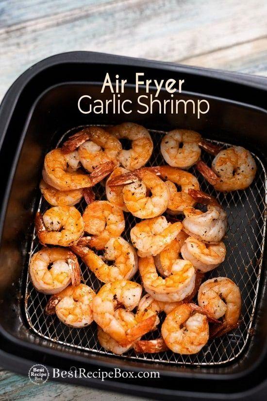 Fryer Garlic Shrimp with Lemon -  Air Fryer Garlic Shrimp with Lemon  -Air Fryer Garlic Shrimp with