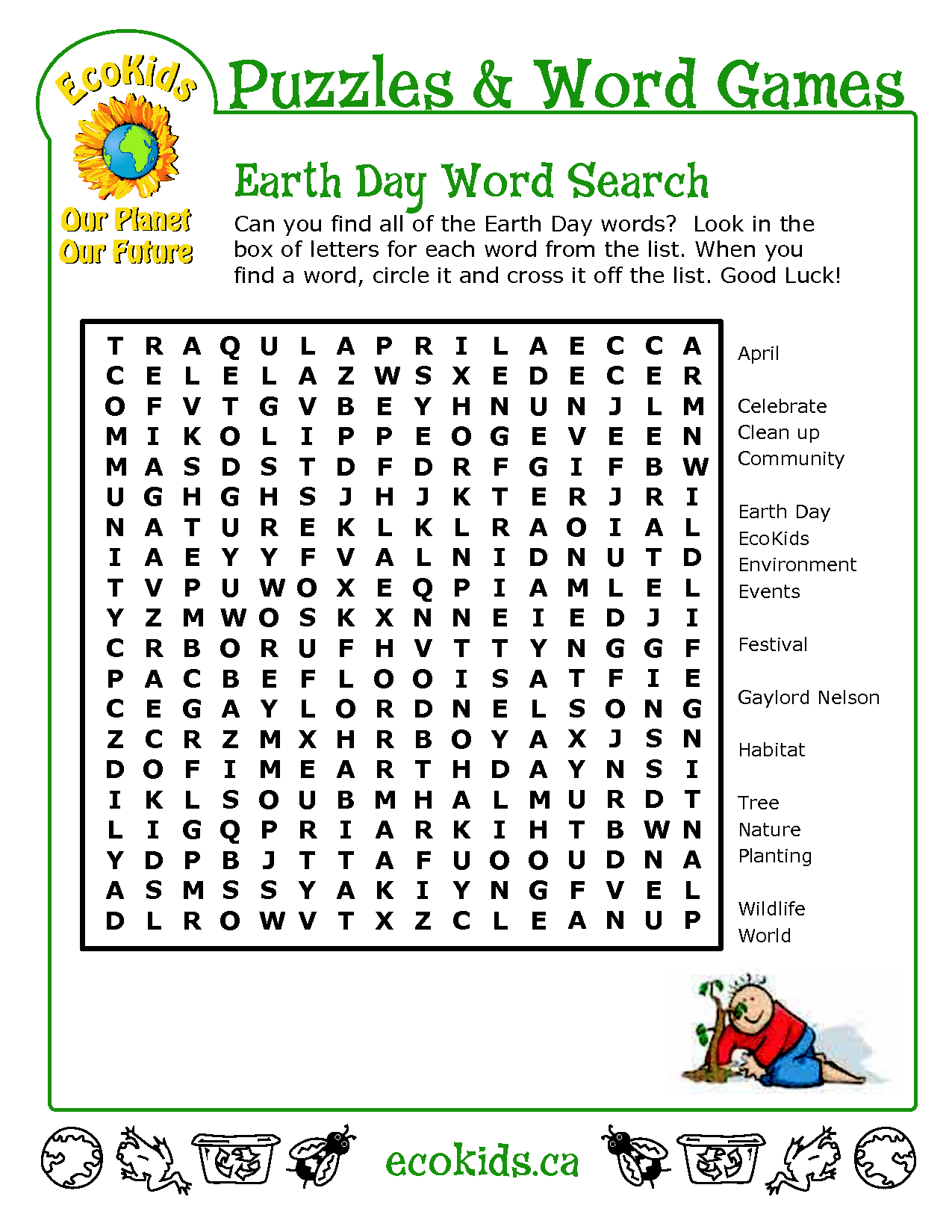 Ed Word Search With Images