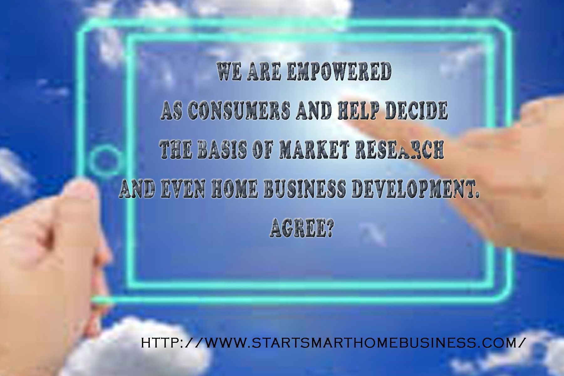 Every family deserves fair and democratic home business. Save money make money - help others save!