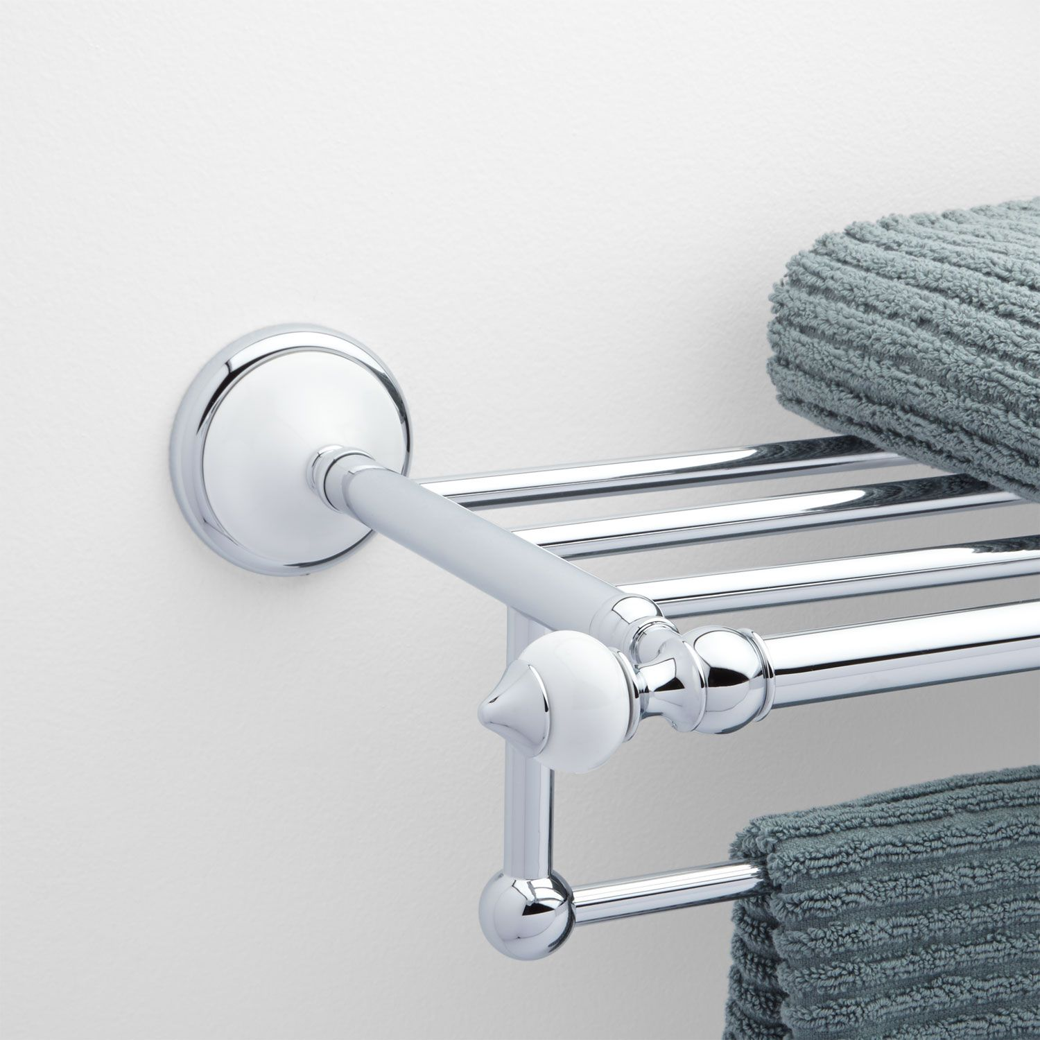 Water Creation 29 In Towel Bar And Bath Train Rack In Brushed Nickel Ba 0001 02 The Home Depot Water Creation Vintage Bathroom Accessories Towel Bar