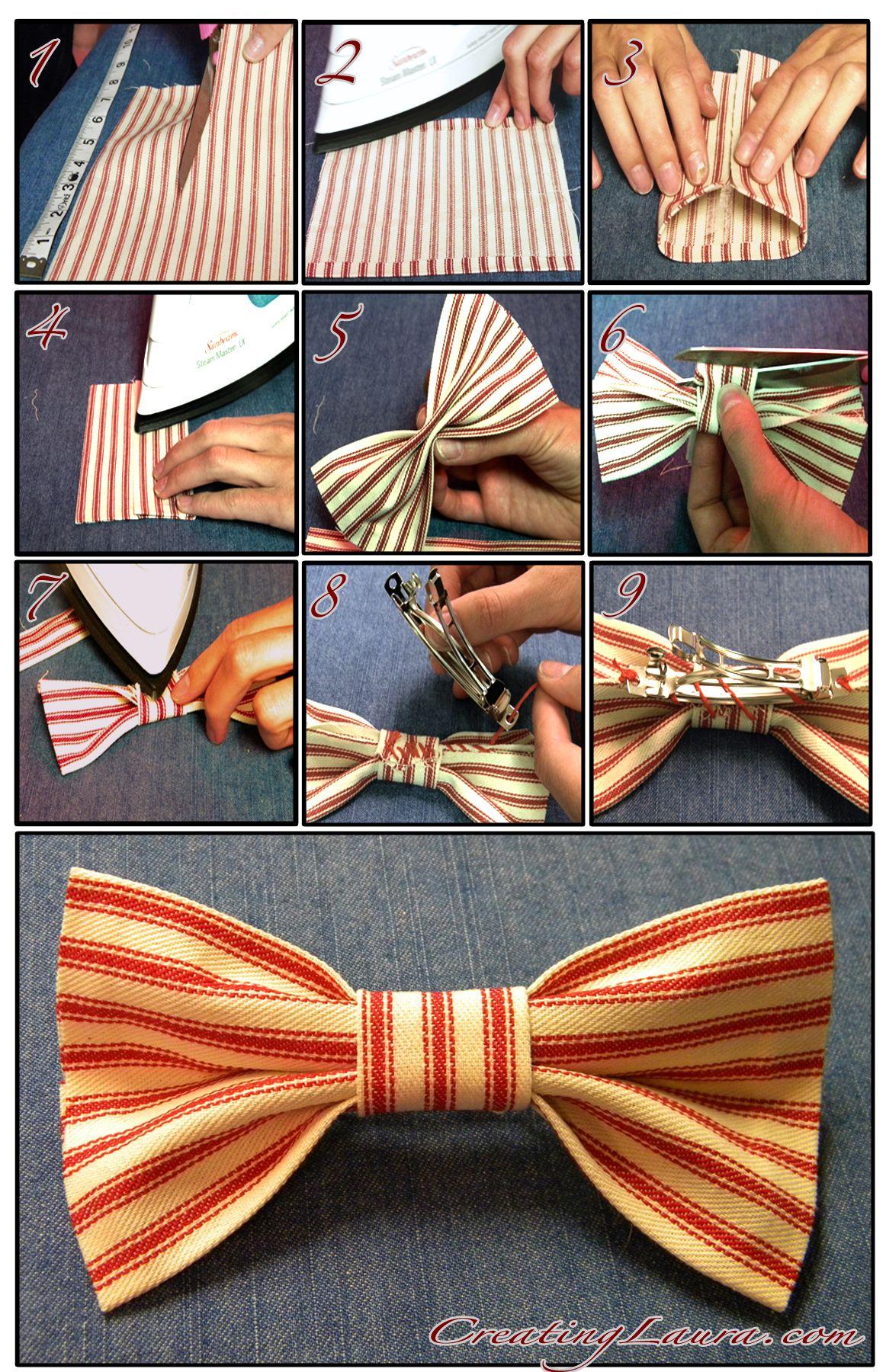 Creating laura hair bow happiness diy hair bows fabric