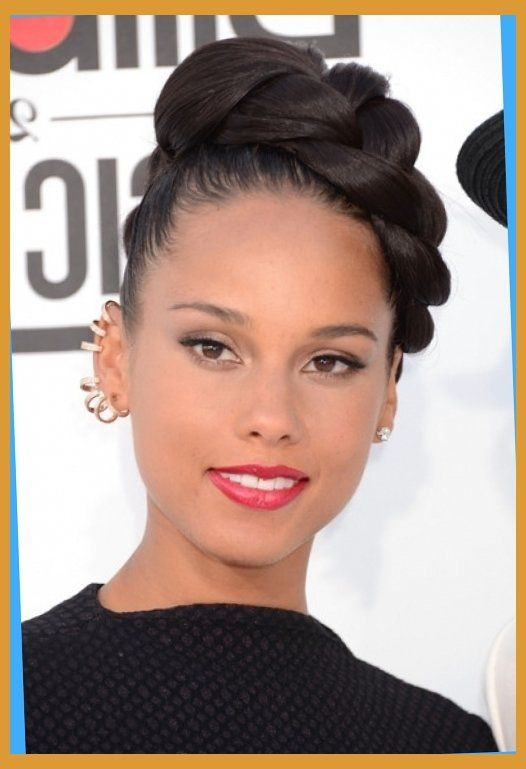 Updo Hairstyles For African American Women Braided Bun Hairstyles