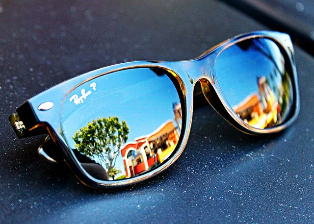 Ray-Ban Wayfarer...the best investment one will ever make.