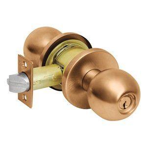 Antique Vintage Arts Crafts Brass Door Entry Exterior Lockset Plate Lock Set Key Corbin Brass Door Entry Doors Door Handles