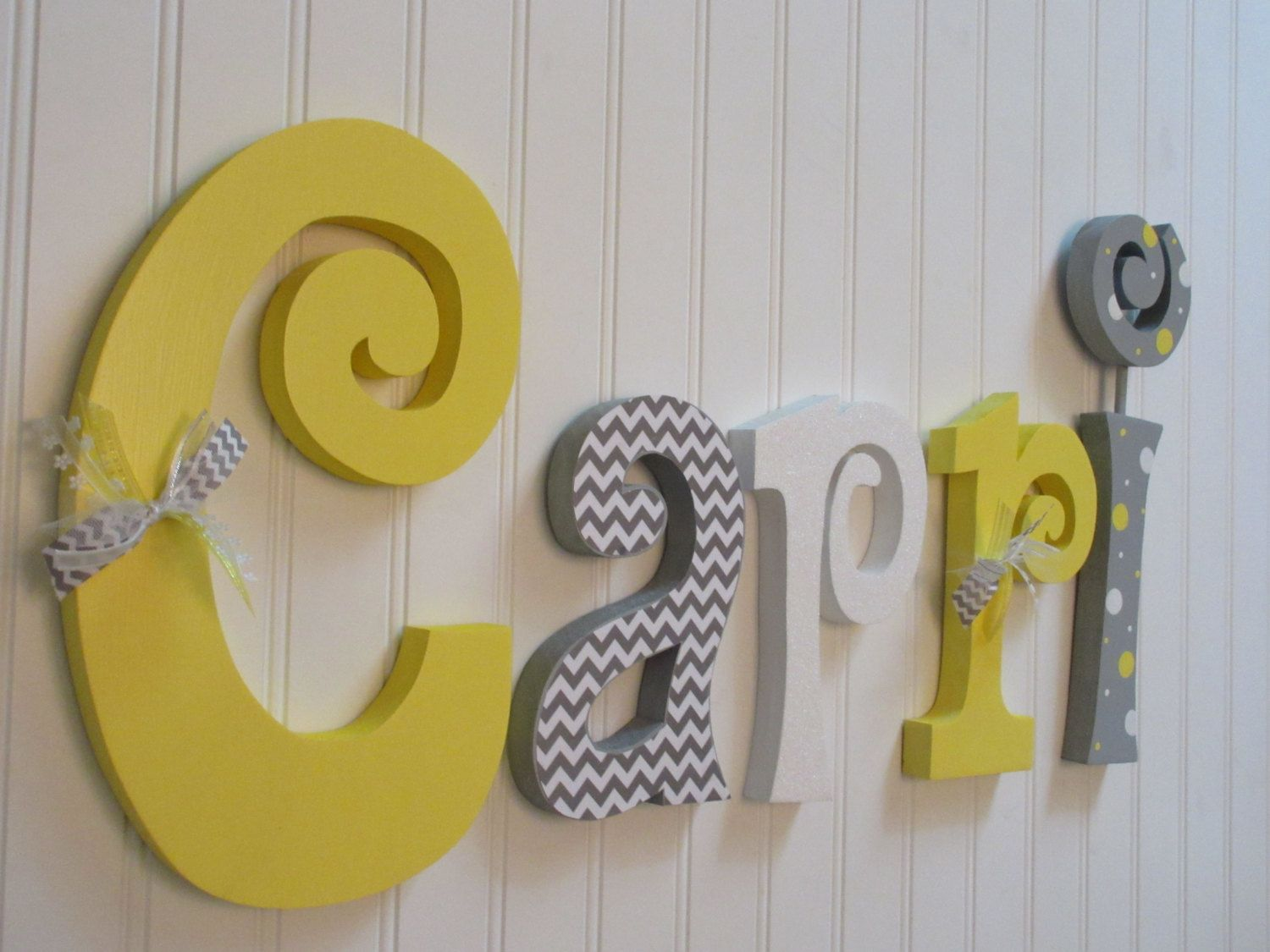 Charming Letters For Wall Decor For Nursery Images - The Wall Art ...