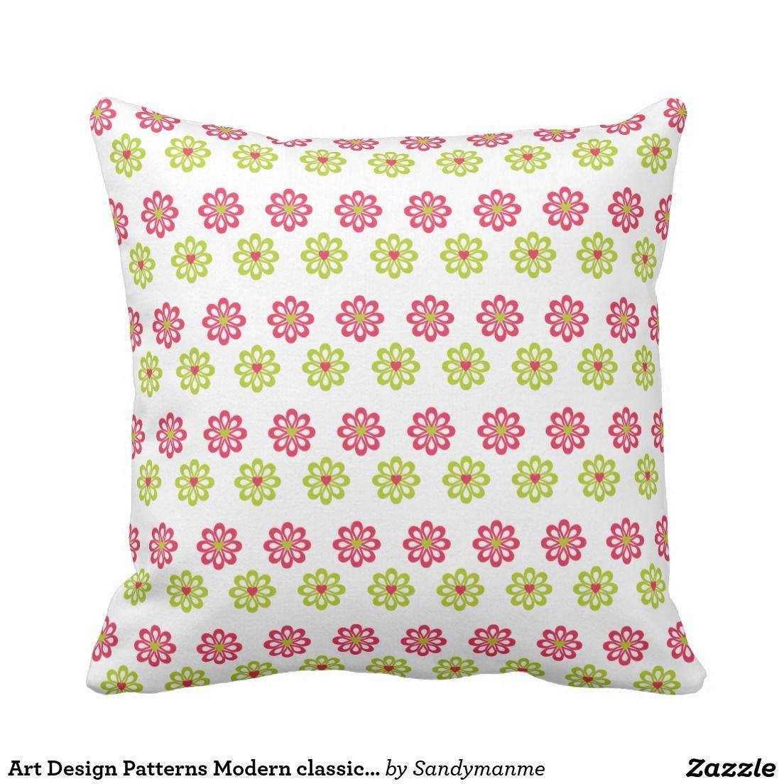 Art Design Patterns Modern classic tiles Beautiful Pillow