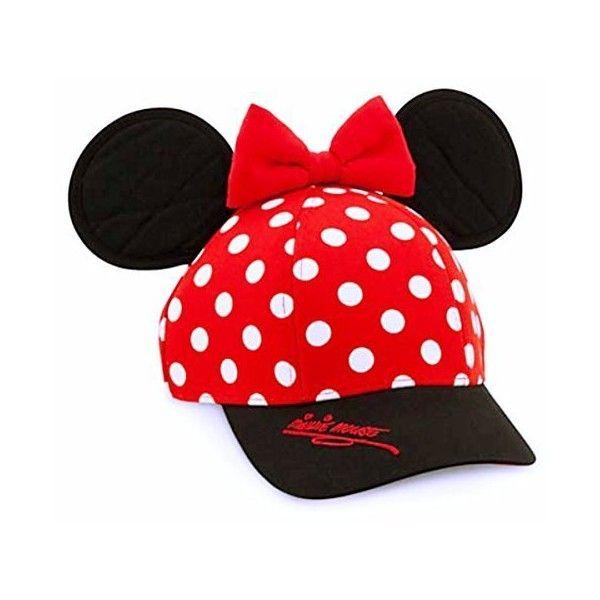 Minnie Mouse Disneyland Polka Dot Snapback Cap with Ears Disney ...