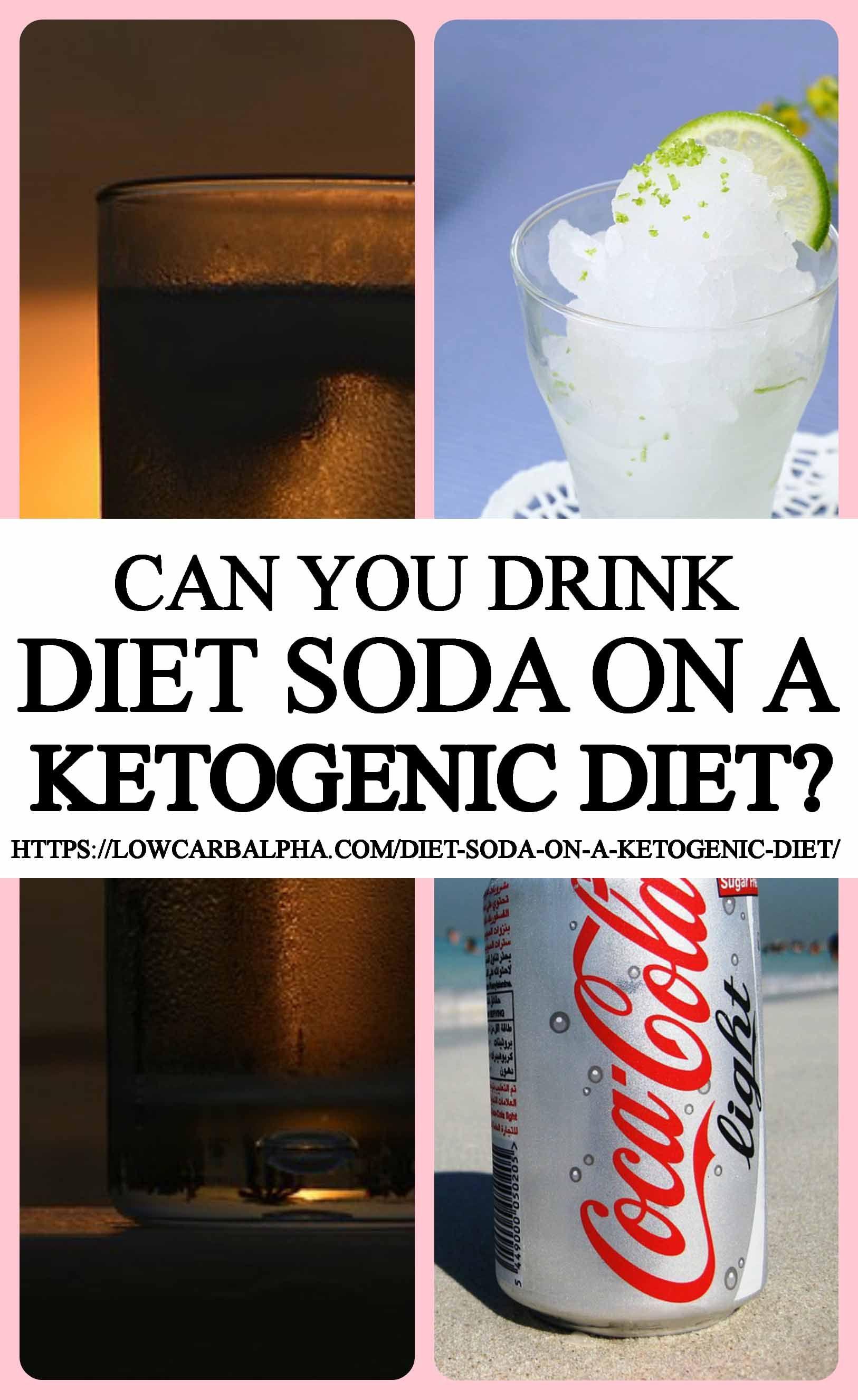 should you drink diet soda o keto diet