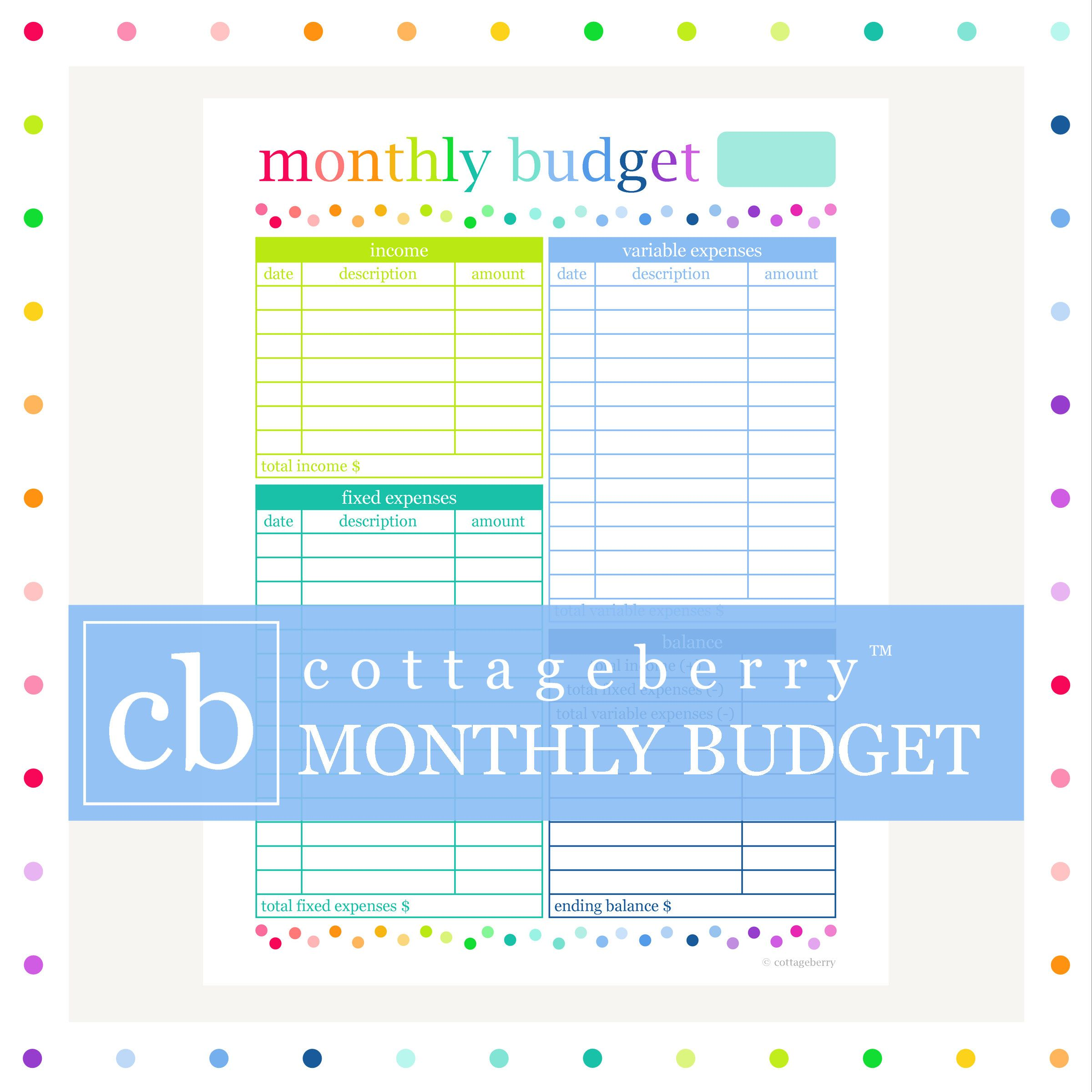 budget planner budget printable bill organizer budget binder