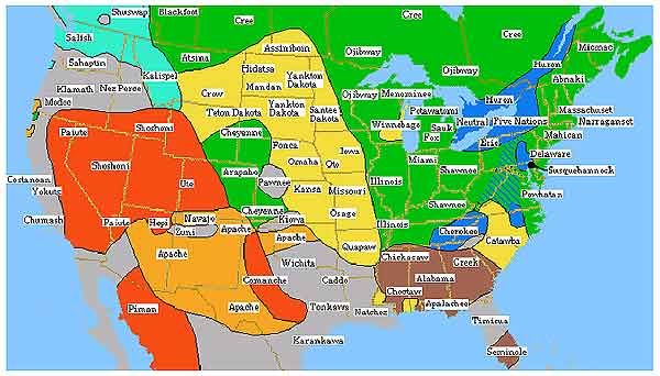 Native American Tribes and Language Groups | Miscellany ...