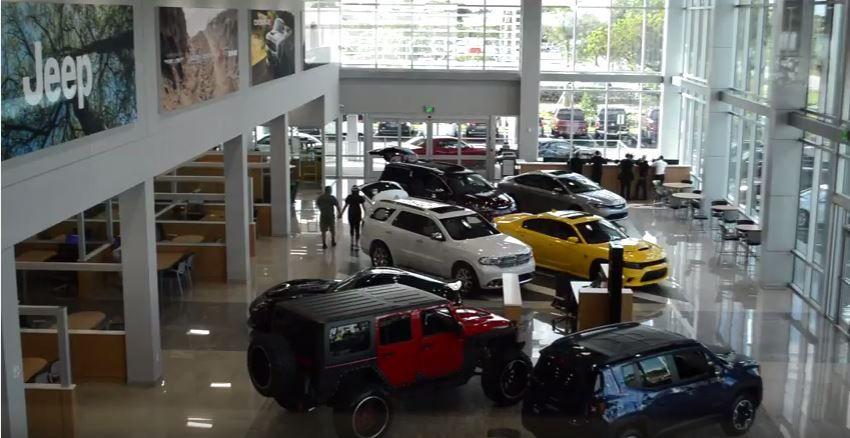 Miami Lakes Automall S New Chrysler Jeep Dodge Ram Building Is Now Open Miami Lakes Chrysler Jeep Award Winner