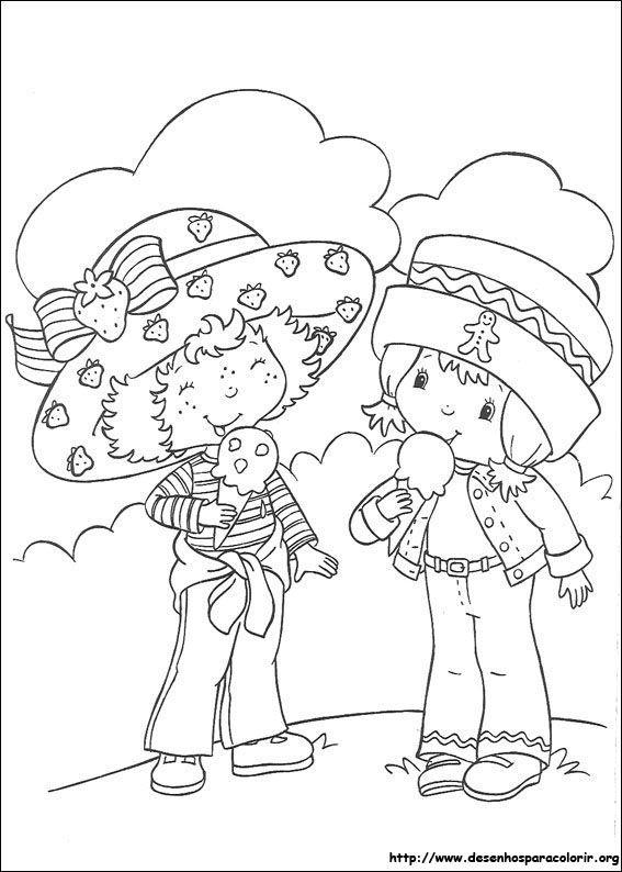 Jordbær Marie og hendes veninde