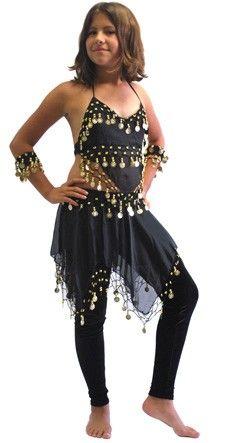 dddc71ab9c37 LITTLE GIRLS  BELLA BELLY DANCE COSTUME (BLACK) - Item  3727 on www ...