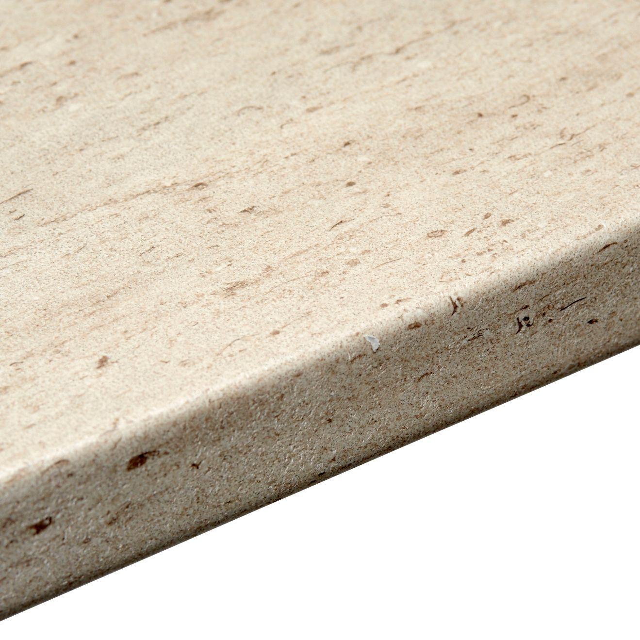 38mm b u0026q trieste stone laminate post formed 6mm kitchen worktop
