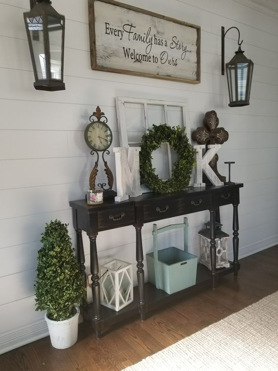 new home decor to copy today farmhouse ideas also entry table entryway in norton house rh pinterest