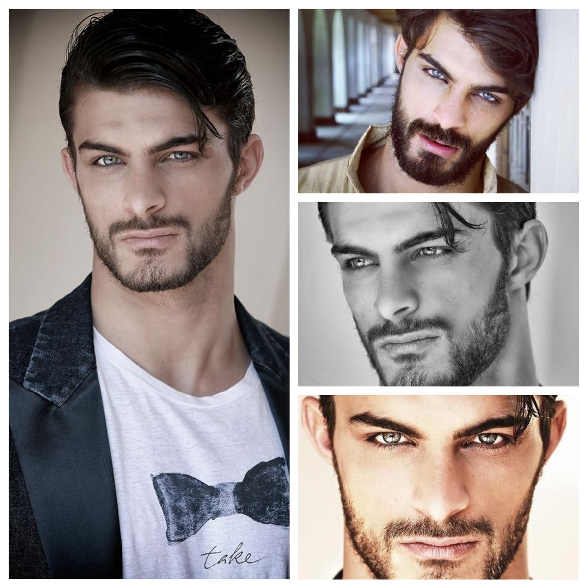 Youssef Ben Hayoun Sadafi Morocco Model Actor Youssefbenhayounsadafi Most Handsome Men Pretty Blue Eyes Good Looking Men
