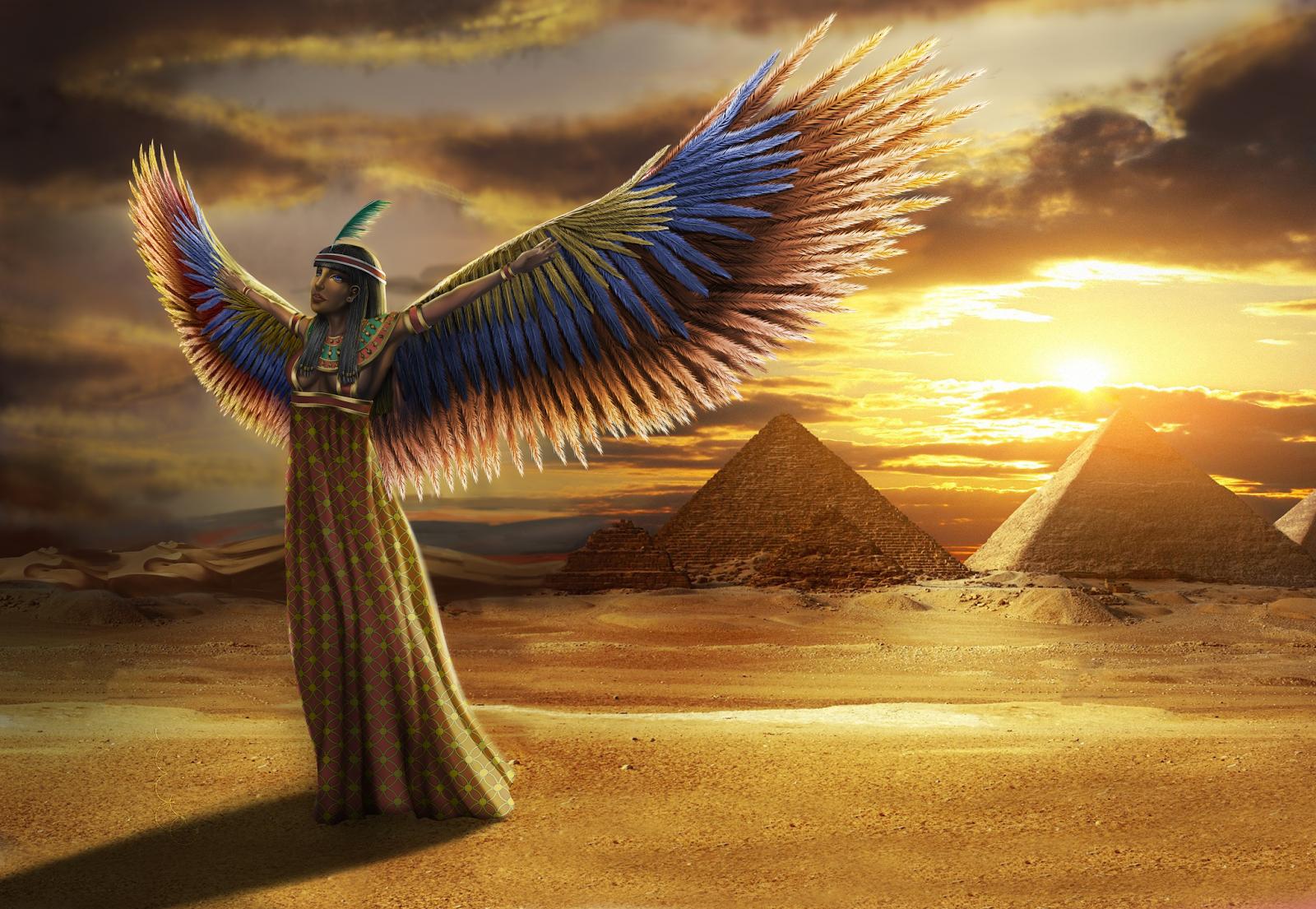Isis diosa egipcia buscar con google de todo for 3d wallpaper for home egypt