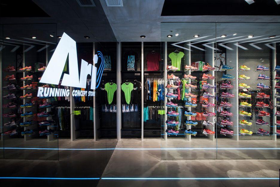 Ari Running Centralworld Retail Design Retail Design Blog