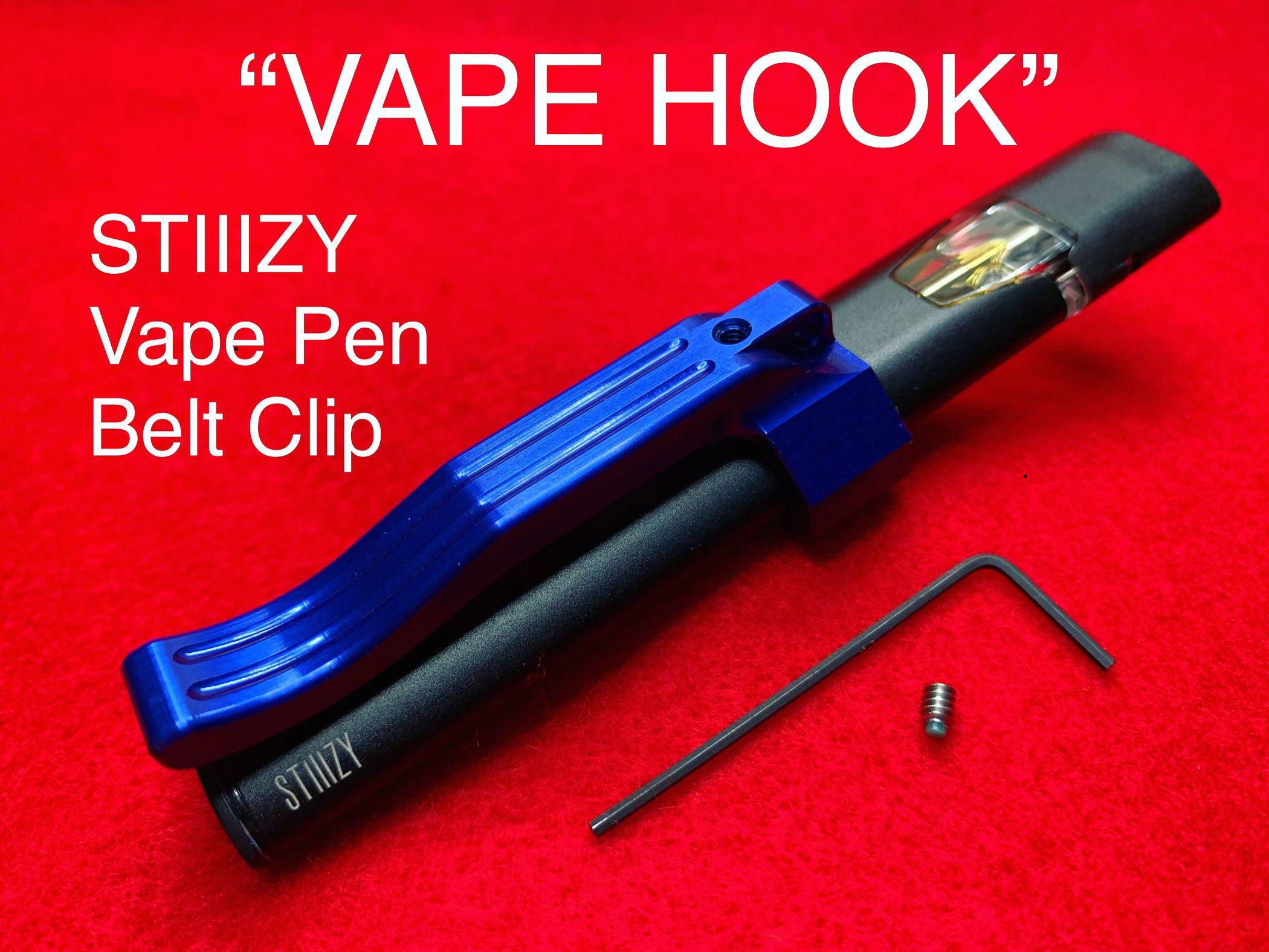 Billet Stiiizy Vape Pen Battery Belt Clip In 2020 Vape Pens