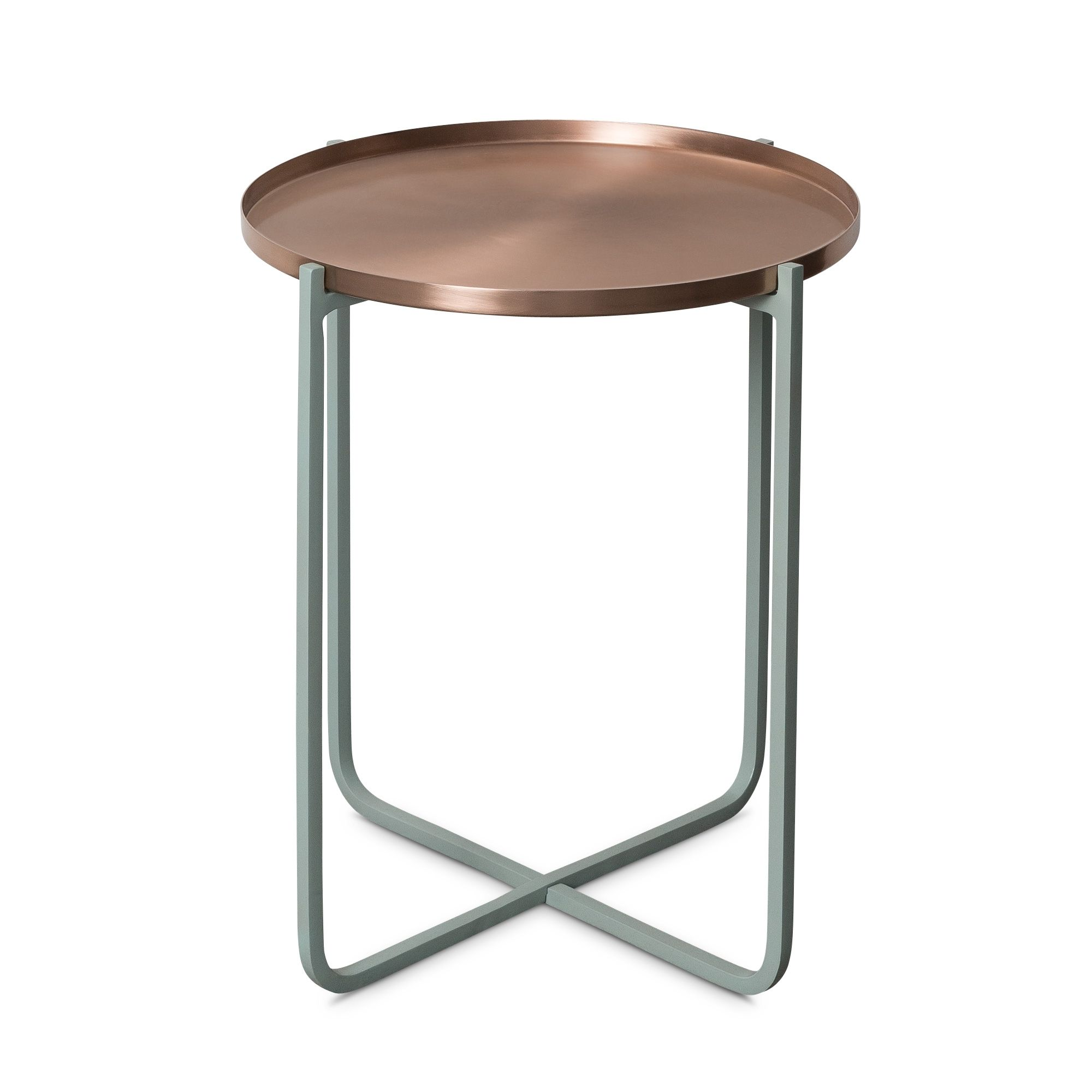 Iggy Metal Tray Side Table