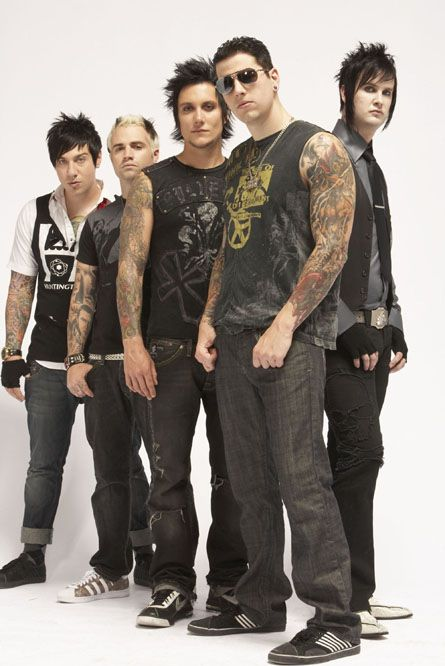 Avenged Sevenfold / Matthew Sanders (M. Shadows), Brian Haner Jr ...