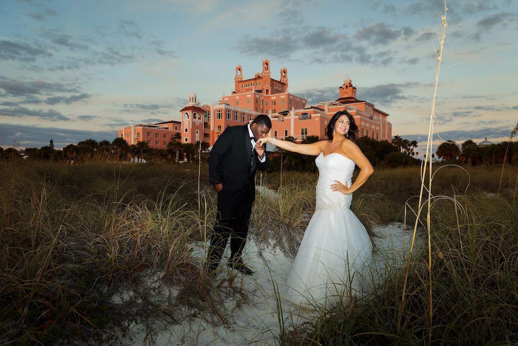 Elegant rooftop st pete beach wedding beach wedding