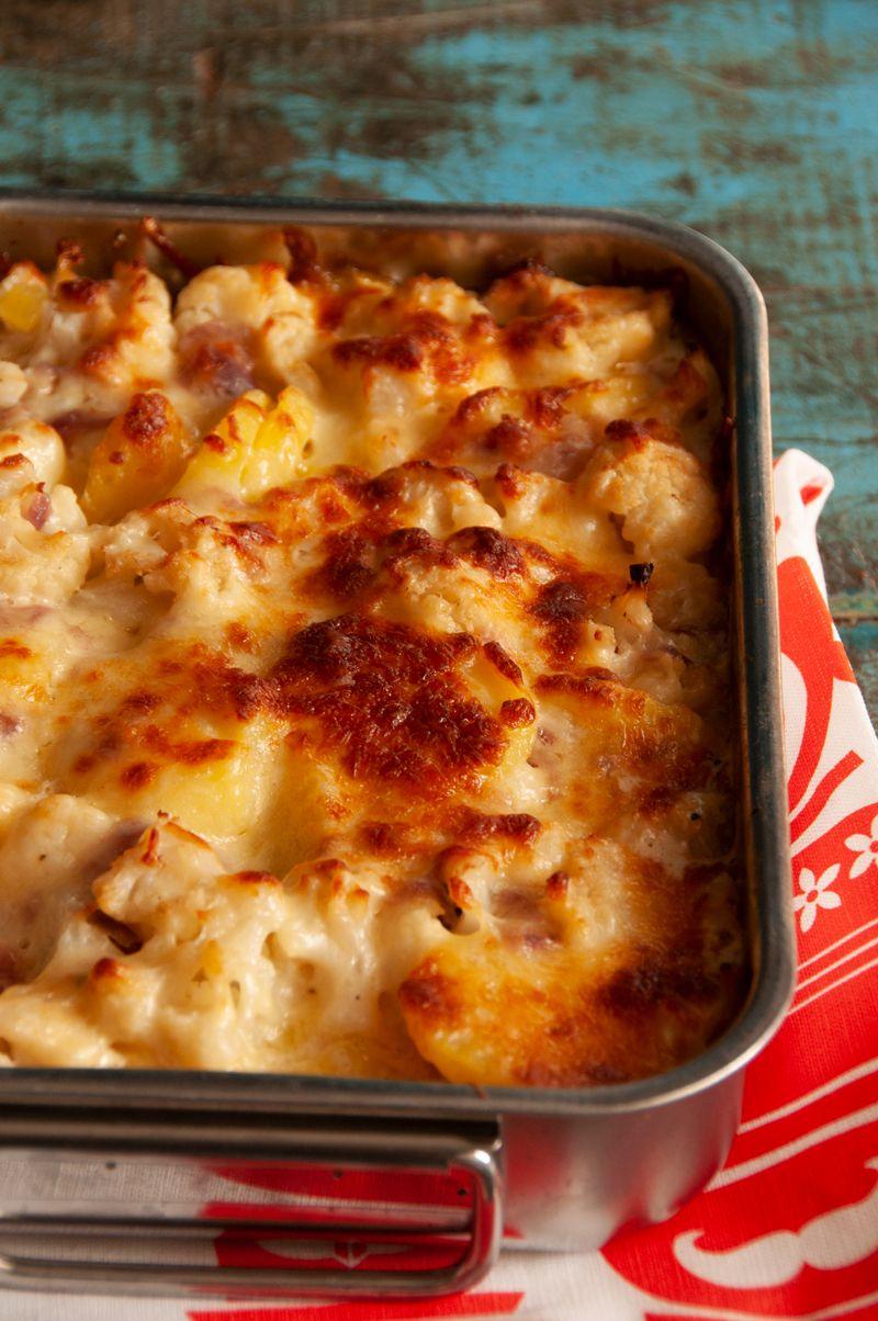 Blumenkohl-Kartoffel-Auflauf - Schnelles Rezept für den Feierabend