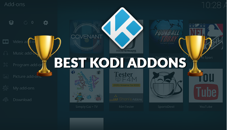 Top 23 Best Working Kodi Addons 2018 - Best Video Addons by Category