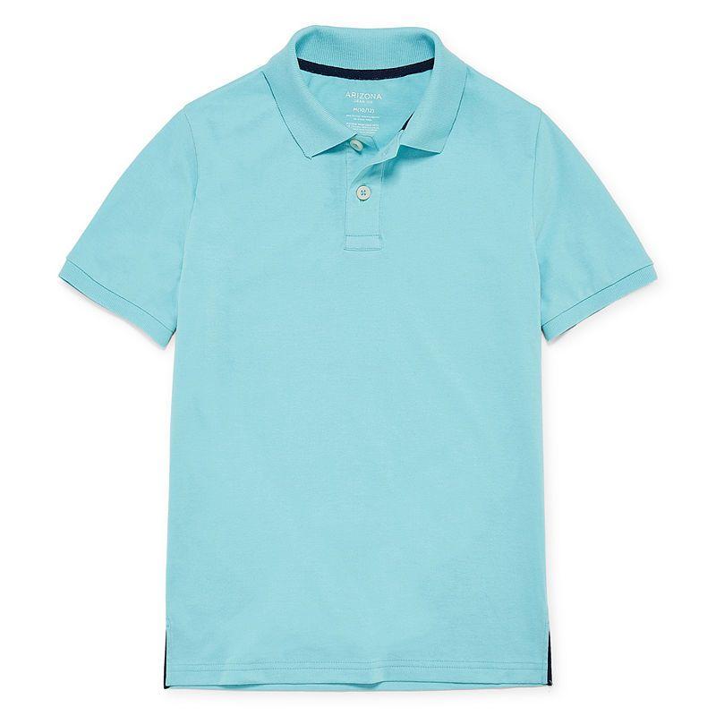 12105724c38 Arizona Short Sleeve Flex Polo Shirt -Boys 4-20   Products ...