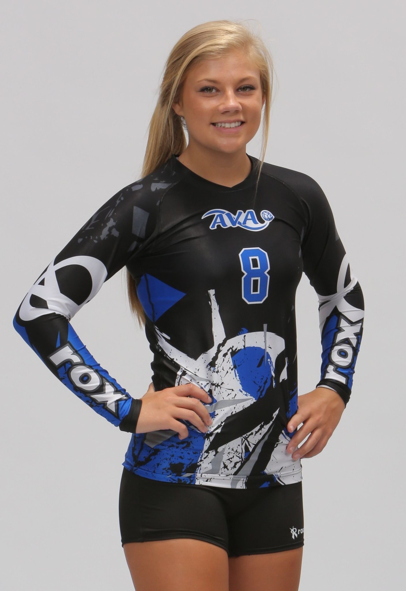 Roxamation Shattered Rox Volleyball Volleyball Jerseys Volleyball Outfits Volleyball Uniforms Design