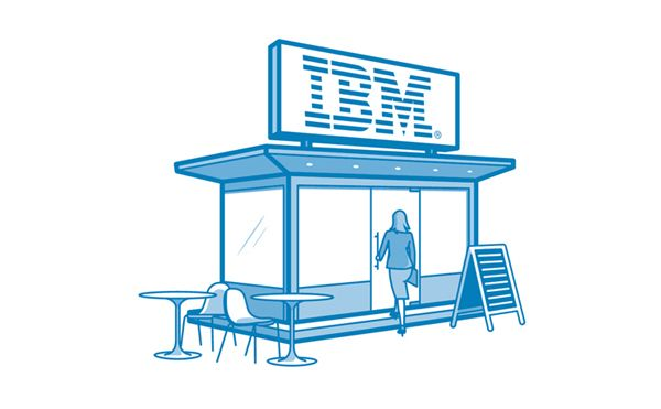 IBM icons by Philippe Intraligi, via Behance