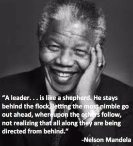 Famous Leadership Quotes Stunning Famous Leadership Quotesnelson Mandela  Most Famous Nelson
