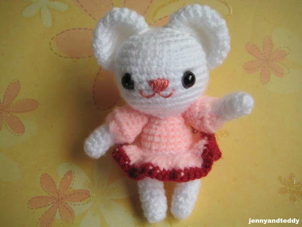 Polly The Bear Amigurumi Free Crochet Pattern Amigurumi