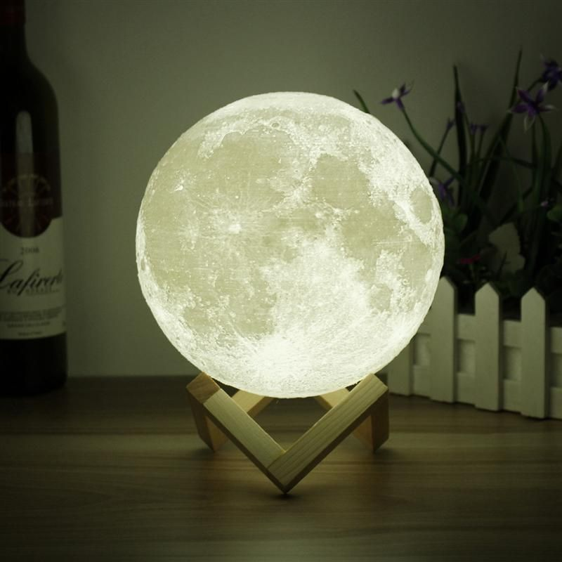 Luna The Enchanting Moon Lamp Moon Light Lamp Moon Decor Dimmable Lamp