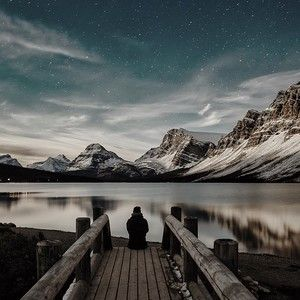 Bow Lake, Alberta by Paco Conesa.