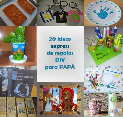 20 ideas express de regalos diy para papa diy ideas - Regalos faciles para cumpleanos ...