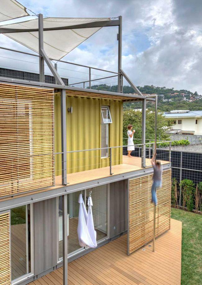 maison container une construction conomique et rapide en 2018 archi archi pinterest. Black Bedroom Furniture Sets. Home Design Ideas