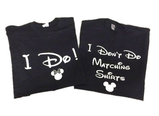 119e4d26b Disney Shirt // I Don't Do Matching Shirts and I Do! Disney Shirt //  Disneyland // Disney shirts for couples
