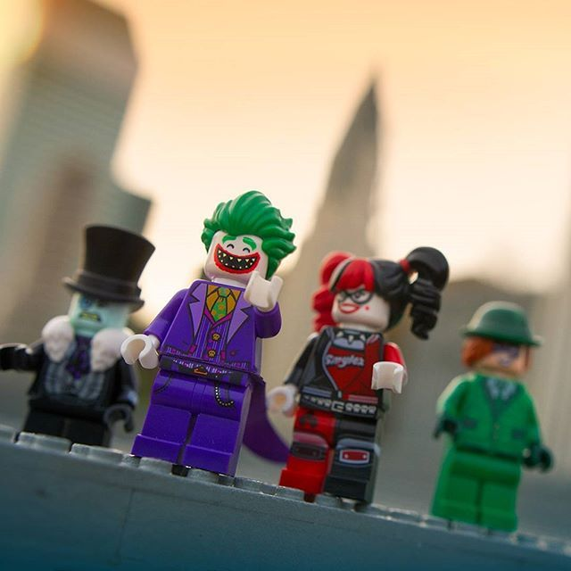 Help save the city! Find the hidden #LEGOBatmanMovie Villains in Miniland USA for a chance to win a LEGO prize pack.