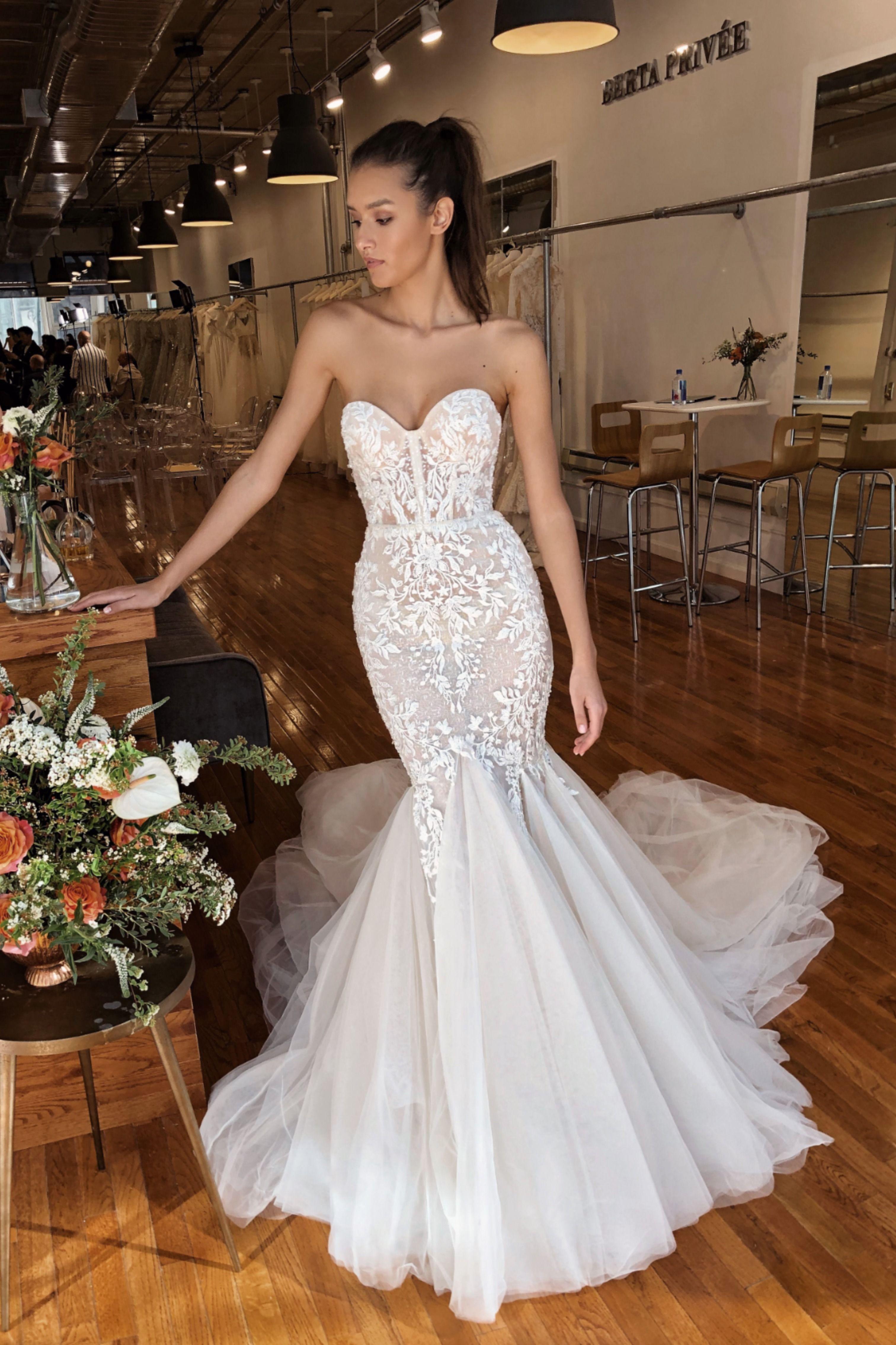 The Ultimate Mermaid Bridal Gown By Berta Privee Bridal Gowns Mermaid Wedding Dresses Civil Wedding Dresses [ 4536 x 3024 Pixel ]